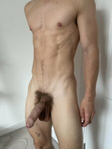Jock with a sexy cock
