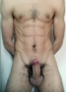Stud with a hairy cock